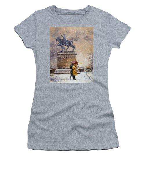 Colors Of Winter - Saint Louis Women's T-Shirt (Athletic Fit)