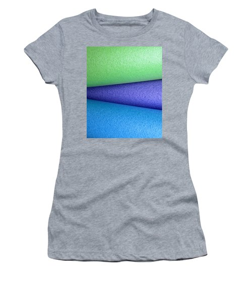 Colorscape Tubes B Women's T-Shirt (Athletic Fit)