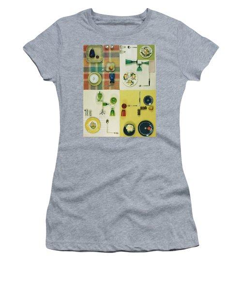 Colourful Table Settings Women's T-Shirt