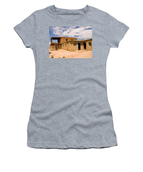 Acoma Pueblo Home Women's T-Shirt (Athletic Fit)