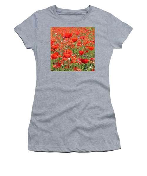 Commemorative Poppies Women's T-Shirt