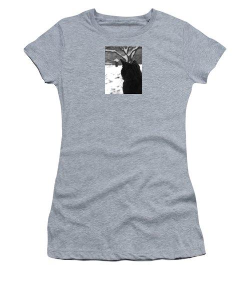 Contemplating Winter Women's T-Shirt