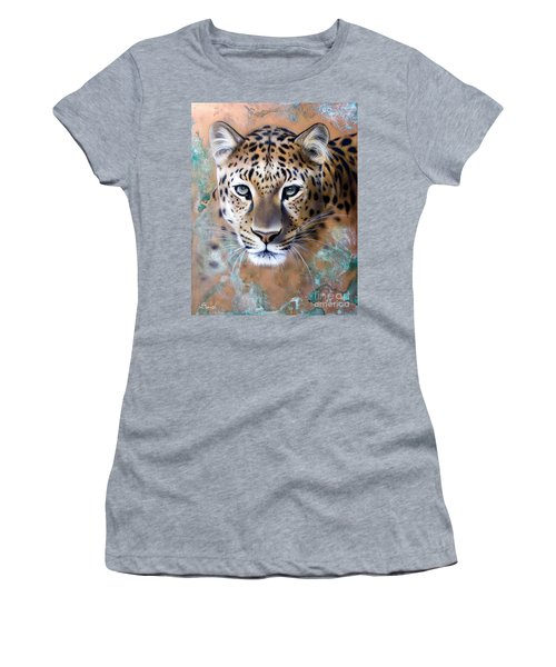 Copper Stealth - Leopard Women's T-Shirt (Athletic Fit)
