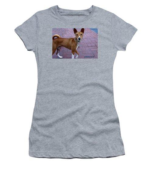 Basenji Women's T-Shirt (Athletic Fit)