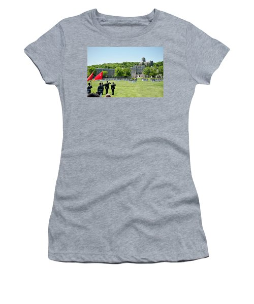 Corps Of Cadets Present Arms Women's T-Shirt