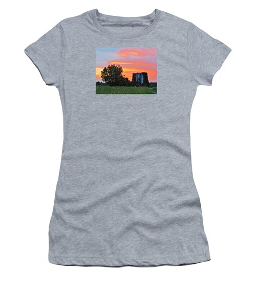 Country Sky Women's T-Shirt (Athletic Fit)