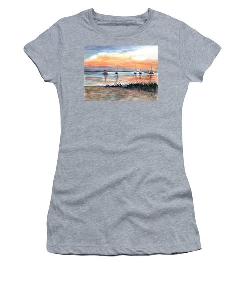 Cove Sunrise Women's T-Shirt (Athletic Fit)