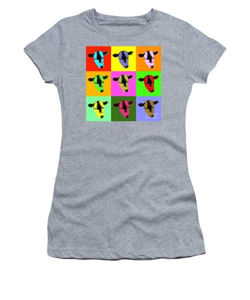 Cow Pop Art Women's T-Shirt
