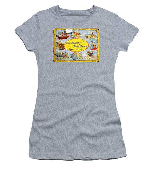 Cowboy Lunchbox Women's T-Shirt (Athletic Fit)
