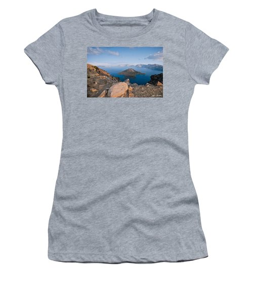 Crater Lake In The Evening Women's T-Shirt