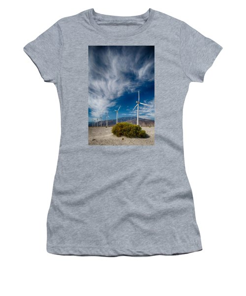 Creosote And Wind Turbines Women's T-Shirt