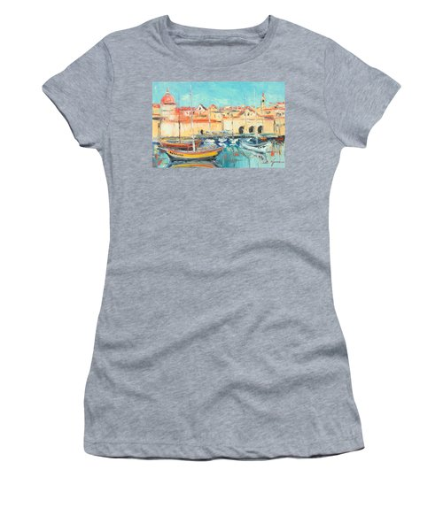 Croatia - Dubrovnik Harbour Women's T-Shirt