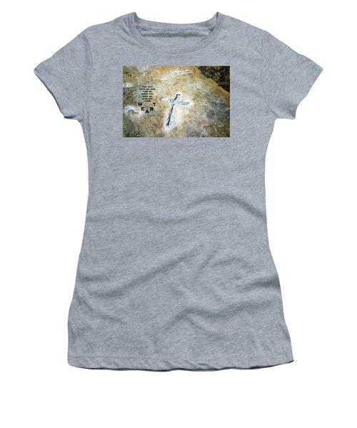 Cross And Heart Women's T-Shirt
