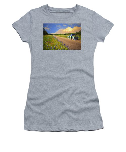 Crusin' The Hill Country In Spring Women's T-Shirt