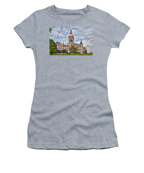 Ct State Capitol Building Women's T-Shirt