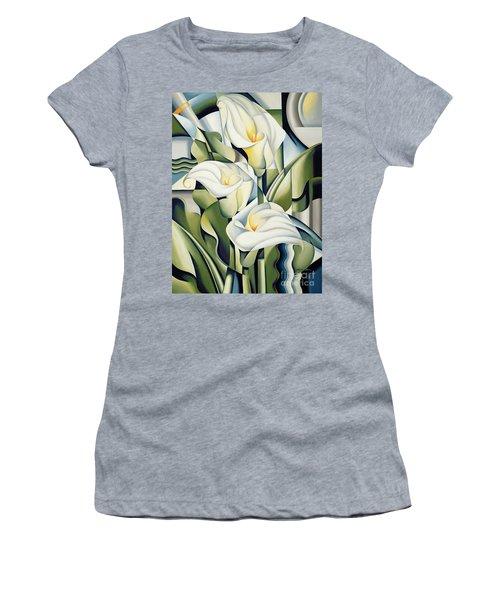 Cubist Lilies Women's T-Shirt