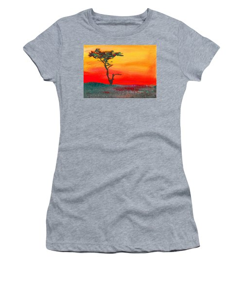 Cypress Sunrise Women's T-Shirt (Athletic Fit)