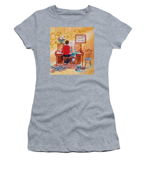 Daddy's Little Girl Women's T-Shirt (Athletic Fit)