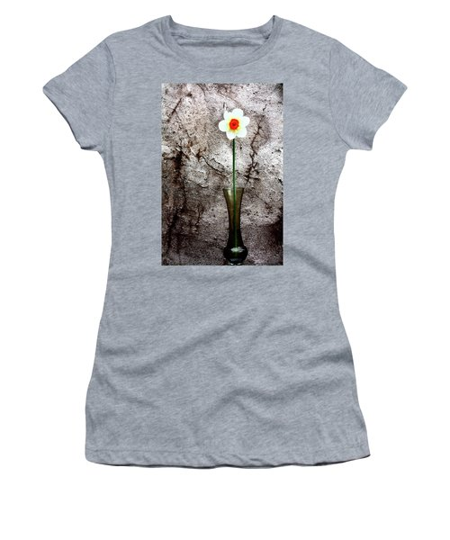 Daffodil Women's T-Shirt (Junior Cut) by Gray  Artus