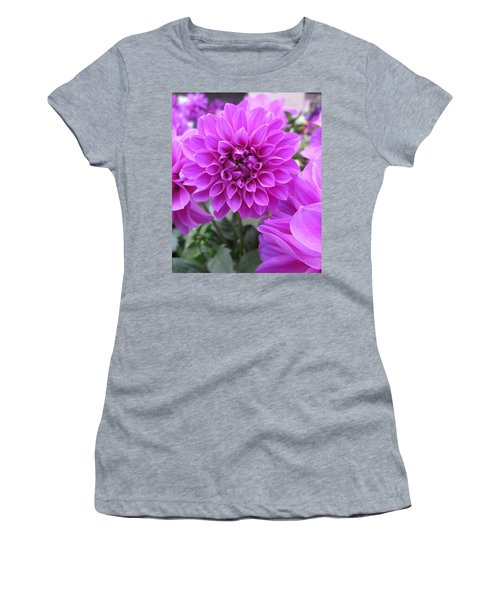 Dahlia In Pink Women's T-Shirt