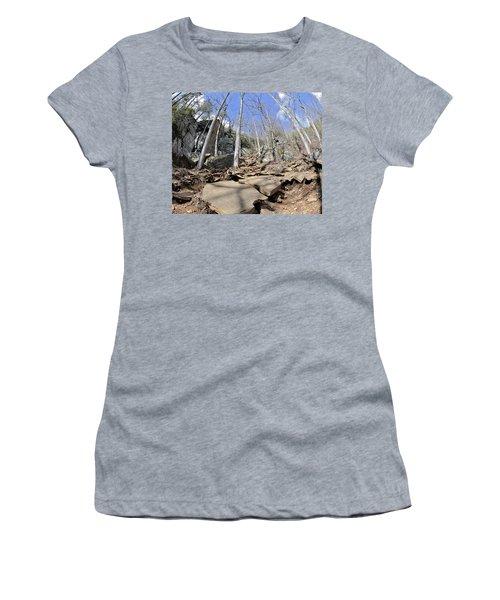 Dangerous Hiking Trail Women's T-Shirt