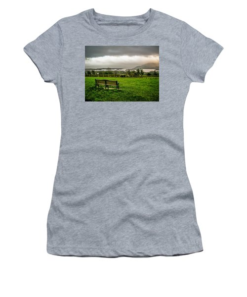Dark Clouds Over Killarney Lakes Women's T-Shirt