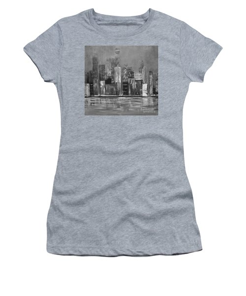 Dark Clouds Over The City Women's T-Shirt