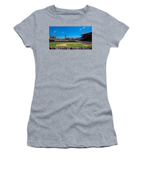 Day Game At Wrigley Field Women's T-Shirt (Athletic Fit)