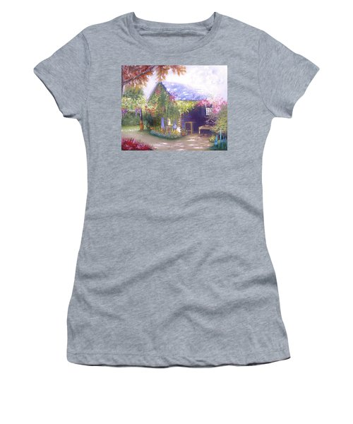 Daylesford Cottage Women's T-Shirt (Athletic Fit)