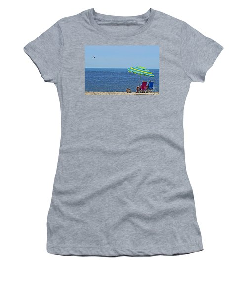 Daytime Relaxation Women's T-Shirt (Athletic Fit)