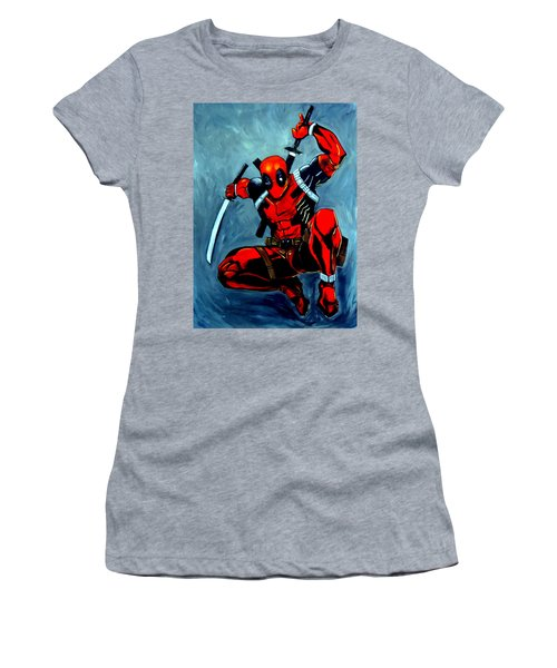 Deadpool Women's T-Shirt (Athletic Fit)