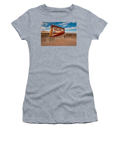 Death Valley Entry Women's T-Shirt