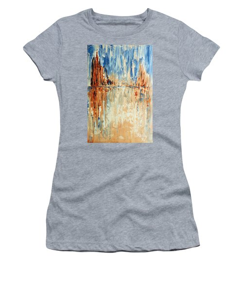 Desert Mirage Women's T-Shirt (Athletic Fit)