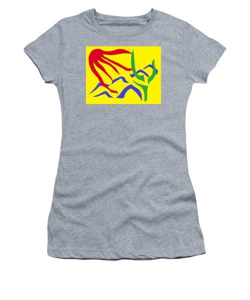 Desert Sun Women's T-Shirt (Athletic Fit)
