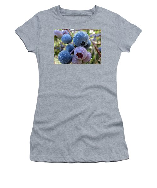 Dewy Blueberries Women's T-Shirt (Athletic Fit)