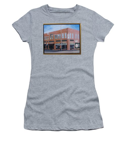 The Chavanne Building Women's T-Shirt (Athletic Fit)