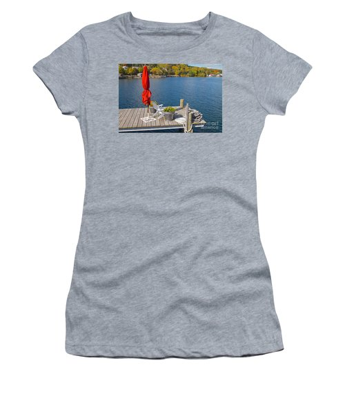 Dock By The Bay Women's T-Shirt (Athletic Fit)