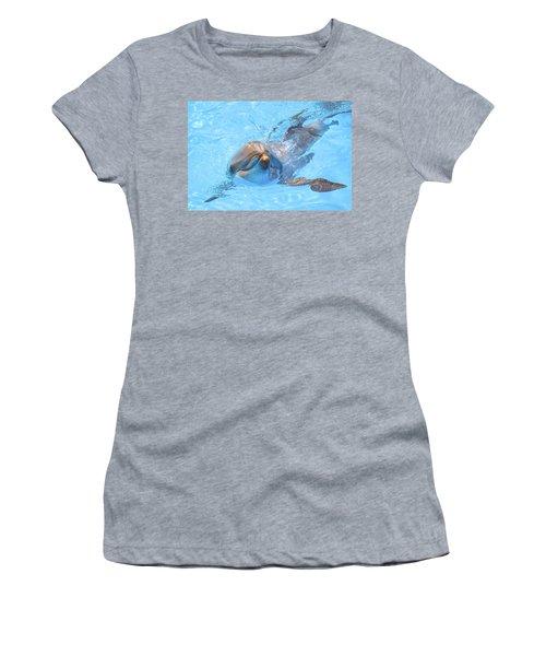 Dolphin Swimming Women's T-Shirt