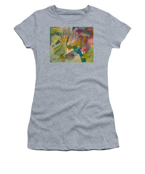 Doodles With Abstraction Women's T-Shirt