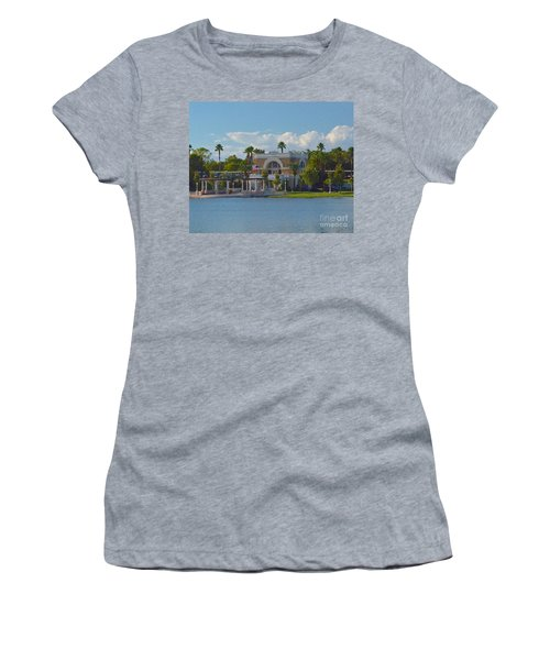 Down By The Station Women's T-Shirt (Athletic Fit)