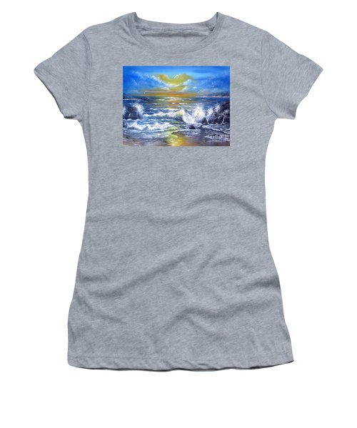 Down Came The Sun  Women's T-Shirt (Junior Cut) by Patrice Torrillo