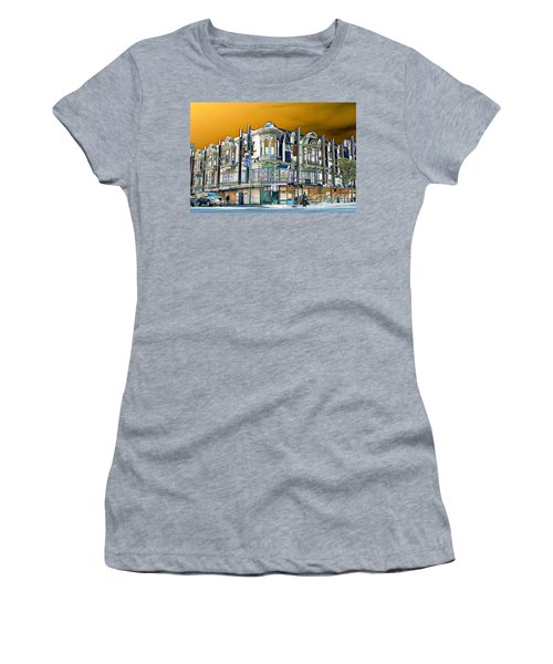 Downtown Los Angeles Corner Facade Women's T-Shirt