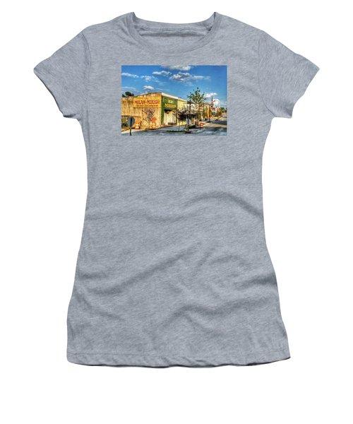 Downtown Milan Women's T-Shirt (Athletic Fit)