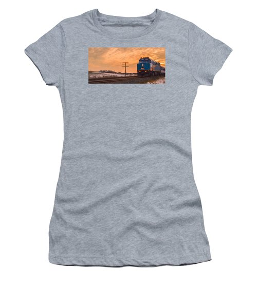 Downtown Train Women's T-Shirt