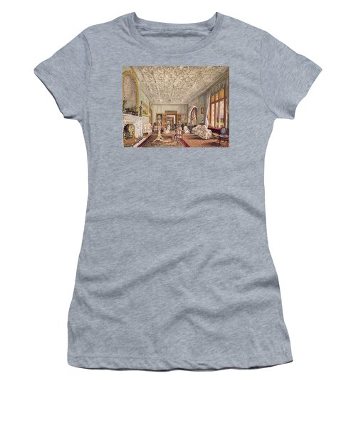 Drawing Room In The Gothic Style, C.1850 Women's T-Shirt