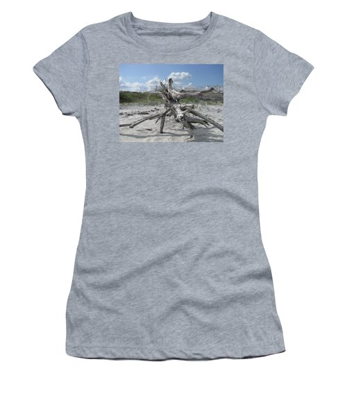 Driftwood Tree Women's T-Shirt (Athletic Fit)