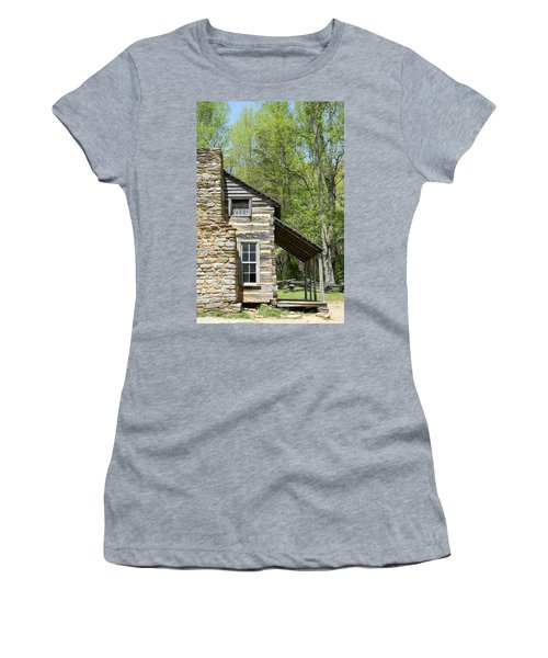 Early Appalachian Home Women's T-Shirt (Athletic Fit)
