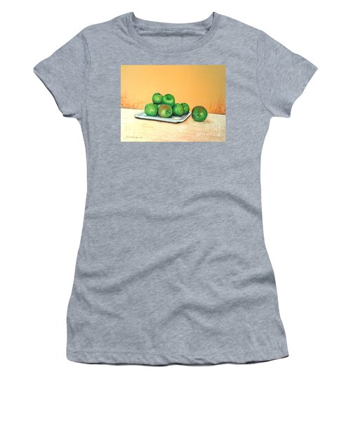 Eat Green Women's T-Shirt (Athletic Fit)