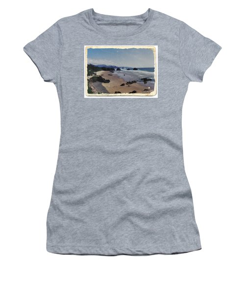 Ecola 1 Women's T-Shirt (Junior Cut) by Chalet Roome-Rigdon