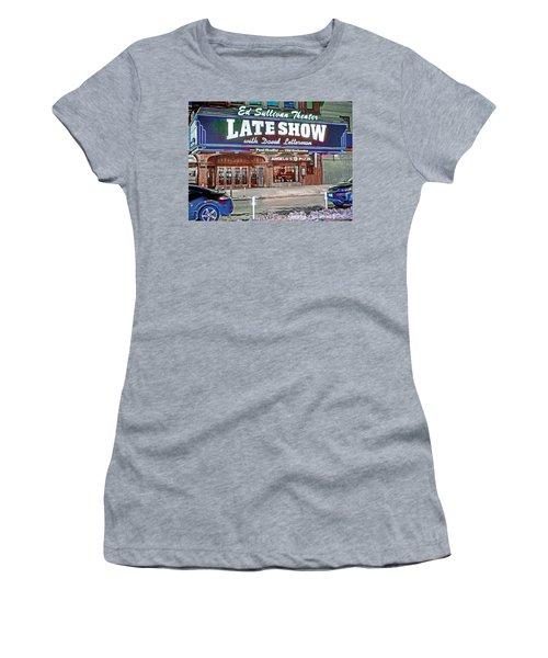 Ed Sullivan Theater Women's T-Shirt